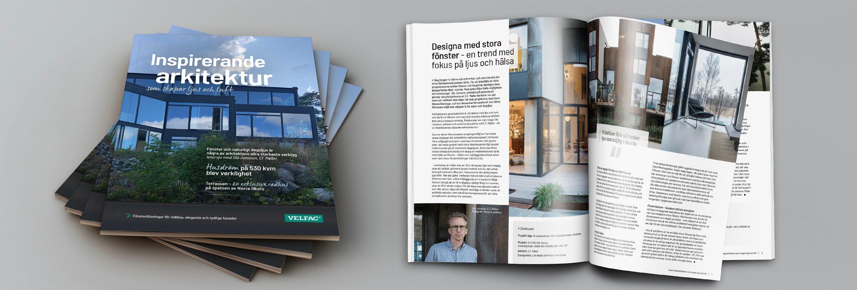 VELFAC Case Brochure - Inspirerande arkitektur